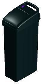 Sensor Sanitary Bin Black