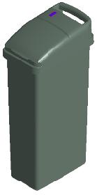 Sensor Sanitary Bin Grey